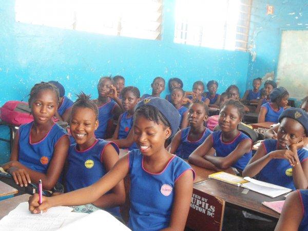Schulbesuch Sierra Leone